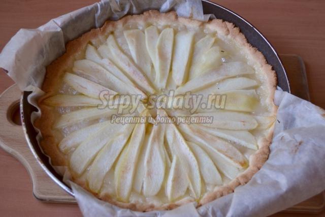 Рецепт песочного пирога с пошагово