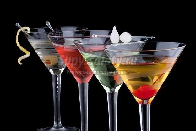 Лучшие рецепты коктейлей с вермутом
