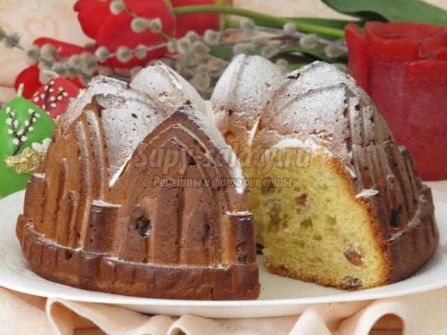 немецкий пасхальный кекс