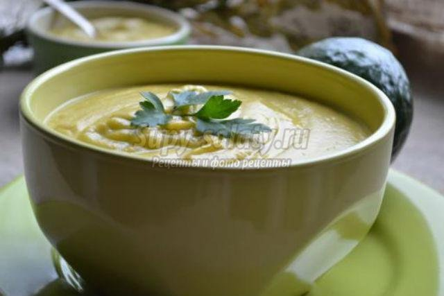 рецепт крем суп из авокадо и