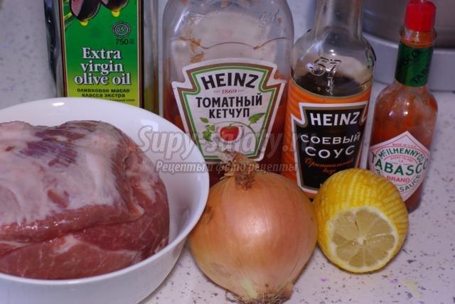 Соусы к шашлыку из свинины рецепты