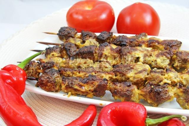шашлык из говядины. Самые популярные и вкусные рецепты