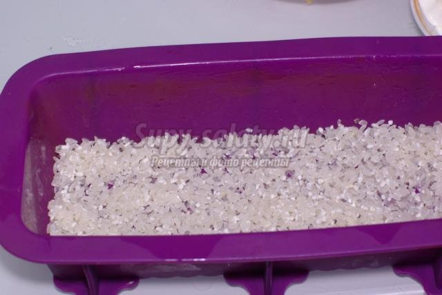 диетическая запеканка из индейки с рисом