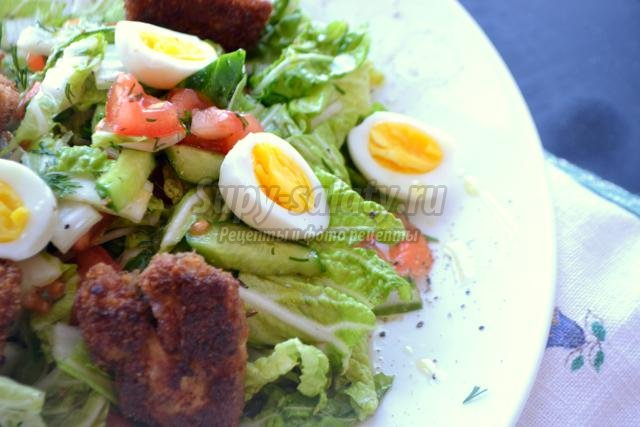 Вкусный салат с говядиной рецепт