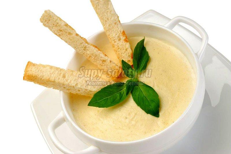 Как приготовить сырный крем суп
