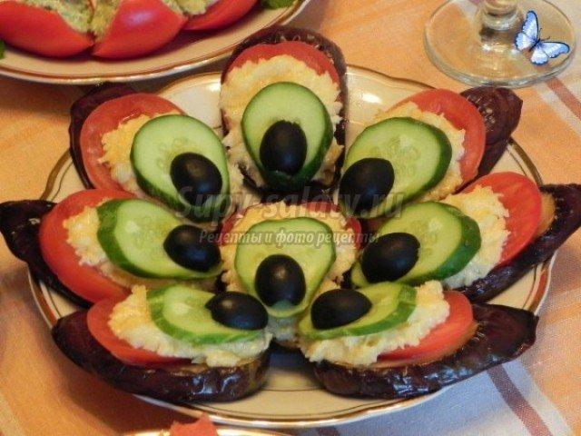 закуска из баклажанов. ЛУчшие рецепты с фото
