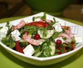 Овощной салат с фетой