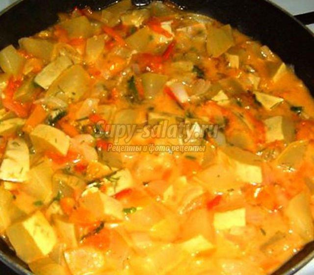 Приготовить вкусное рагу из кабачков