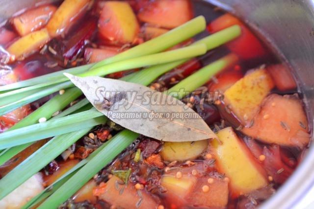 свекольный салат по-корейски на зиму