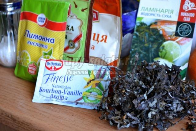Сушеная морская капуста что приготовить