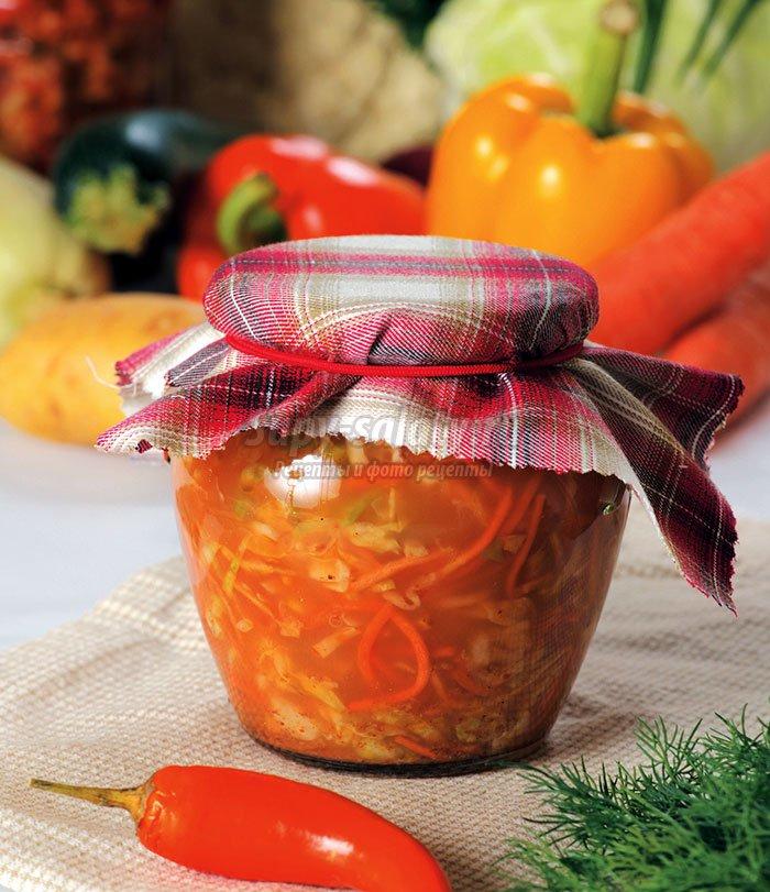 Салаты с морковью на зиму рецепты пошагово 33
