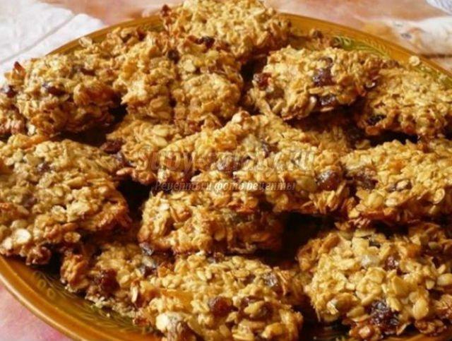 Овсяные печения рецепт