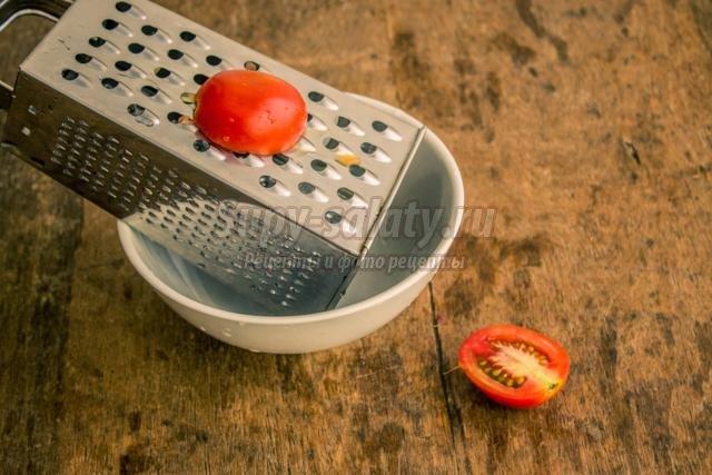 овощная заправка к шашлыку