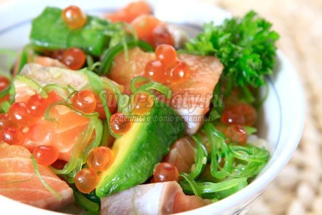 салаты с авокадо. Лучшие рецепты