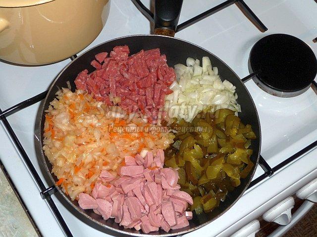 солянка из капусты. Лучшие рецепты