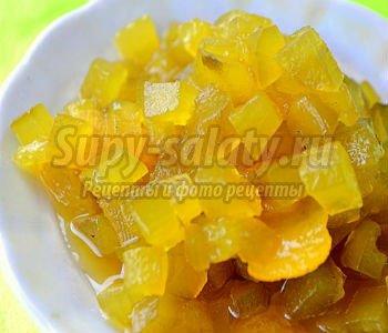 Варенье из огурцов с лимоном, имбирем и корицей. Рецепт с пошаговыми фото