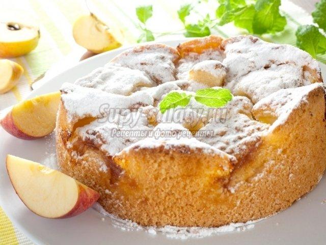 яблочный пирог в мультиварке. ЛУчшие рецепты