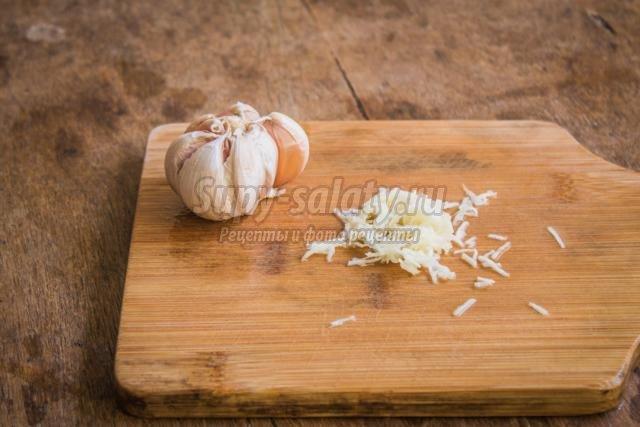 цуккини в луковом маринаде