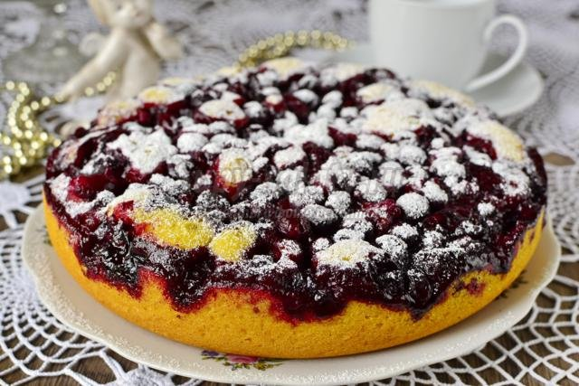 Пироги со смородиной в мультиварке рецепты с
