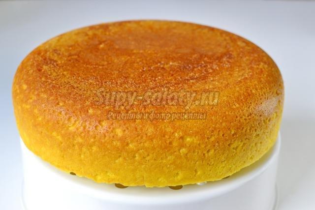 Рецепт бисквита из 6 яиц пошагово