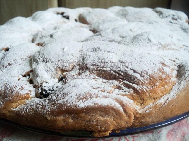 дрожжевой пирог-косичка с маком