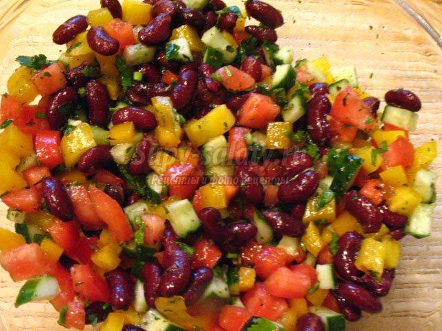 рецепты заготовок на зиму с грибами и фасолью салат