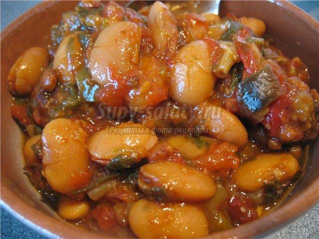 Салат фасоль с овощами на зиму рецепты