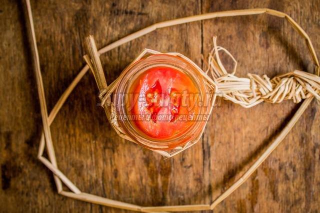 заготовки на зиму. Маринованные помидоры с луком