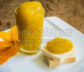 Тыквенный джем с апельсином. Рецепт с пошаговыми фото