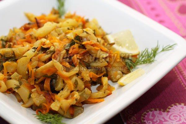 Полезные и вкусные диетические салаты