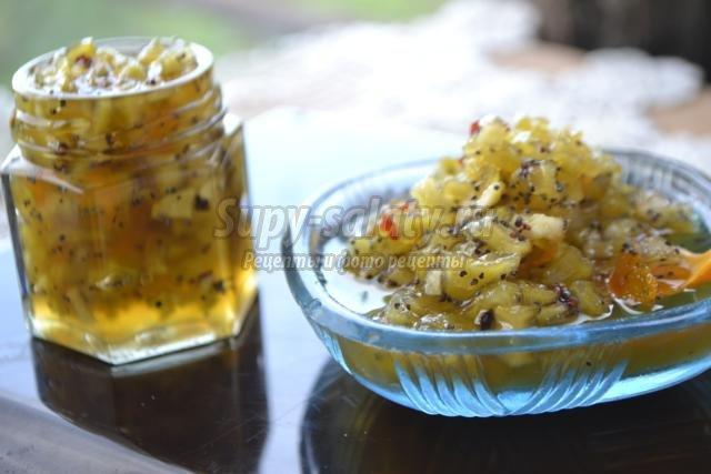 варенье из огурцов рецепт с фото