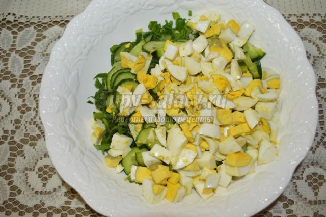 Салат с черемшой рецепты пошагово в
