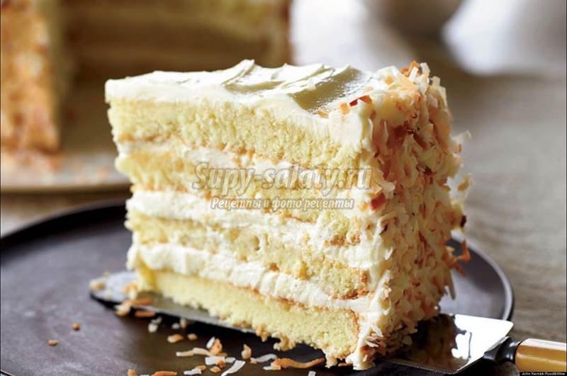 Birthday Cake With Jamaican Rum Sponge