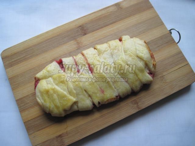Пирог в домашнем стиле (Torta rustica), пошаговый рецепт с фото