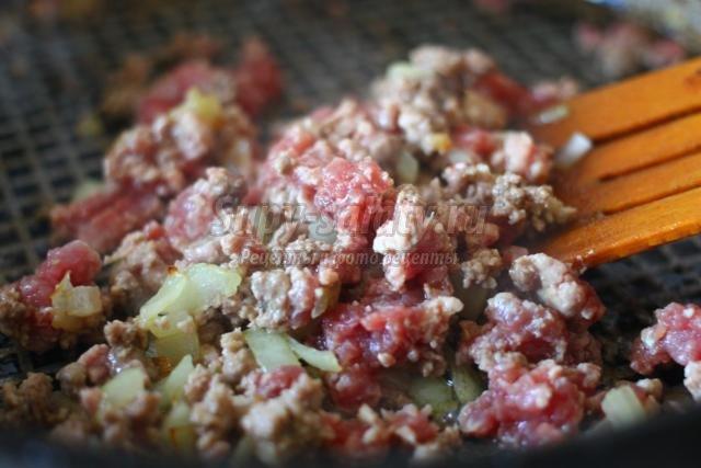 фаршированные кабачки с мясом в пароварке