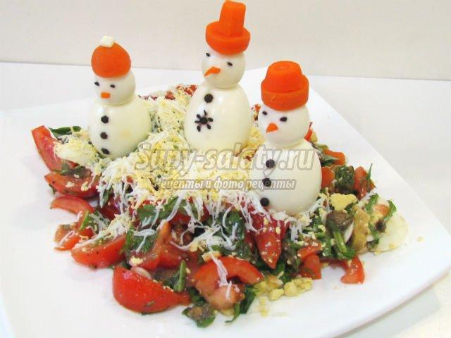 рецепты на салаты новые рецепты с фото