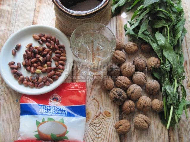 витаминная заготовка из орехов для иммунитета
