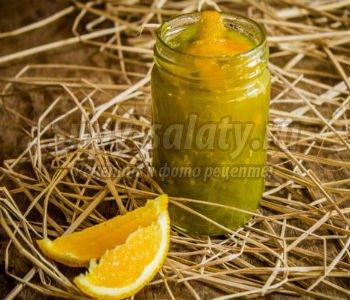варенье из зеленых помидоров с апельсином