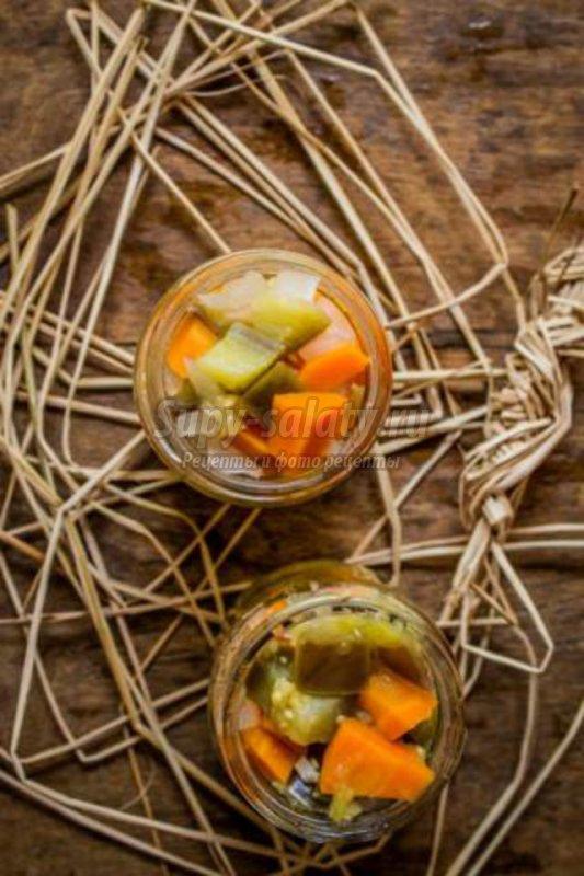 маринованные овощи на зиму