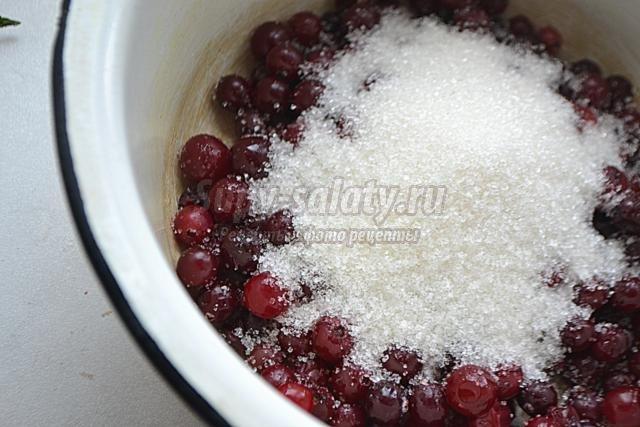 Соус из брусники рецепт
