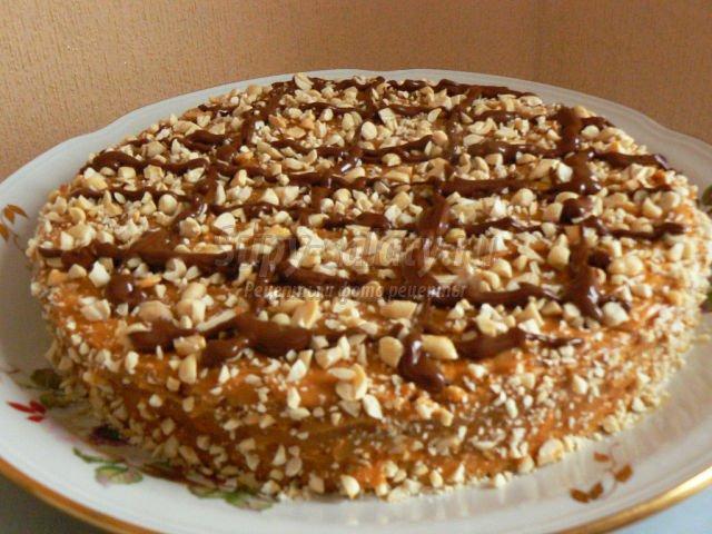 Рецепт торта муравейник без молока