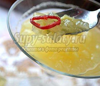 Пикантно-нежное варенье из дыни с имбирём и тимьяном. Рецепт с пошаговыми фото