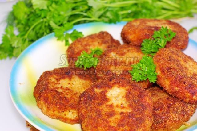 Котлеты из щуки и сала рецепт с пошагово