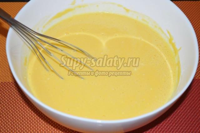 закусочные налистники с сыром и чесноком