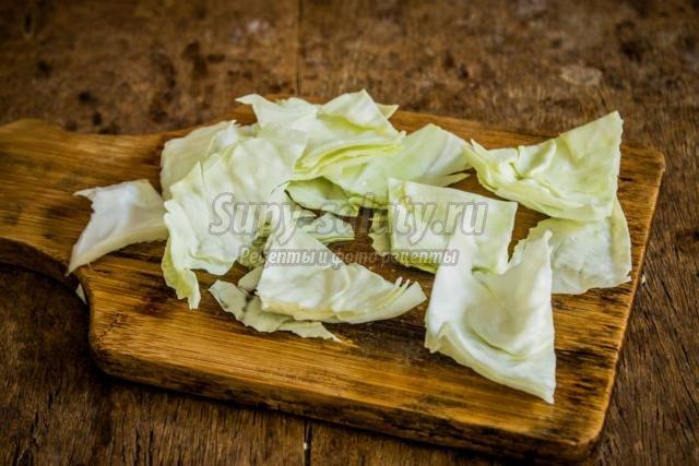маринованная капуста с огурцами на зиму