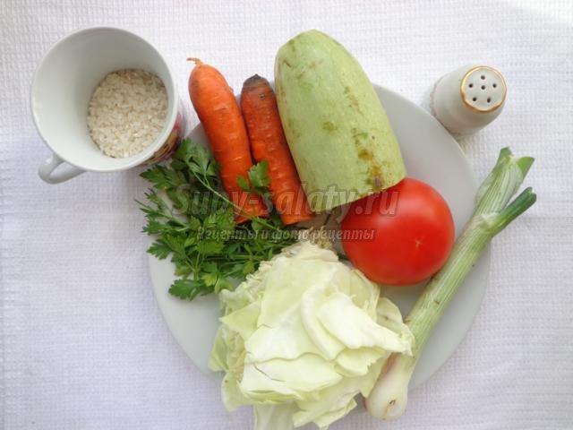 Диетический суп с капустой рецепт с фото