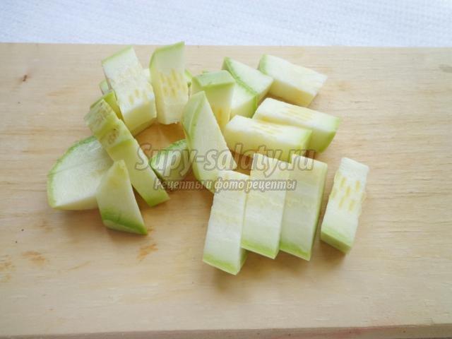 диетический овощной суп с капустой