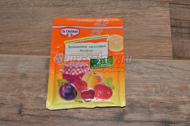 вишневое варенье с желфиксом