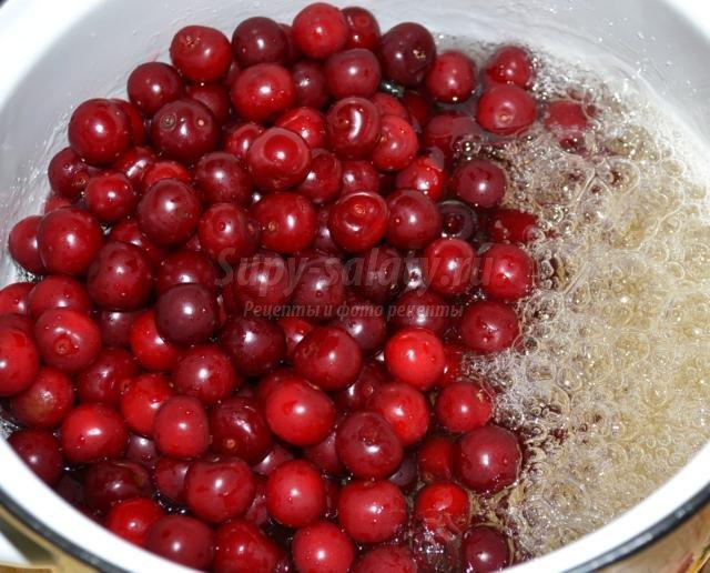 варенье-желе из вишни