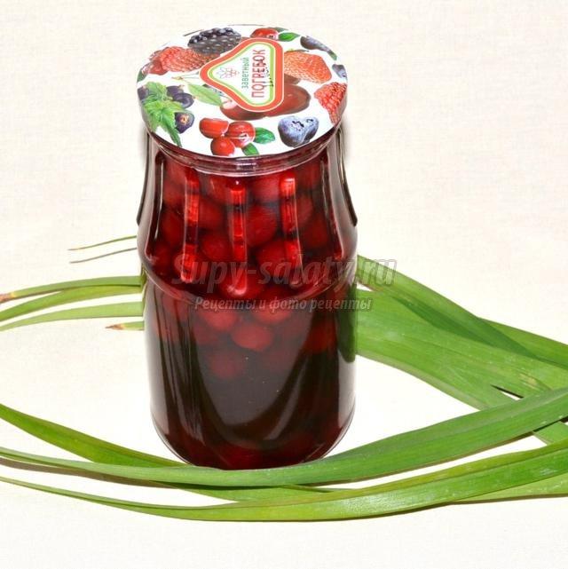 вишневое варенье рецепт приготовления пятиминутка